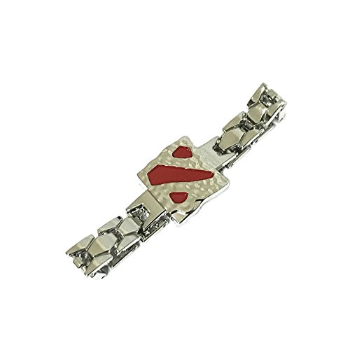 Dota 2 Cosplay Game Silver Tone Link Bracelet w/Gift Box by Superheroes