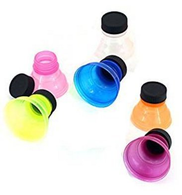 xel_uu.11 - Juego de 6 tapas para botellas de latas reutilizables