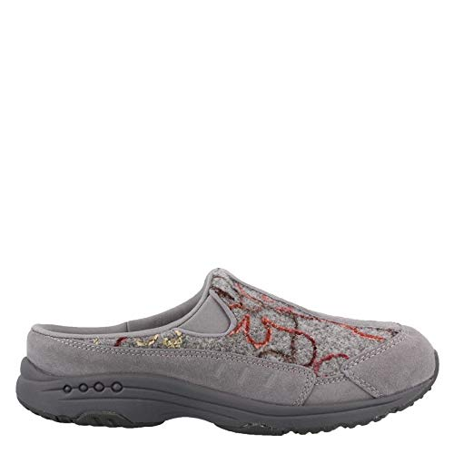 Easy Spirit Women's, Traveltime Clog Gray Multi 7.5 M