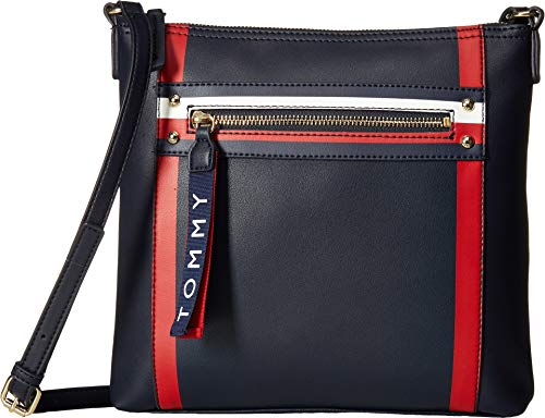 - Tommy Hilfiger Women's Hayden Large North/South Crossbody Tommy Navy One Size