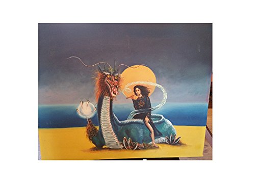Vintage Collectible Rare oil Painting and Album of Jefferson Starship