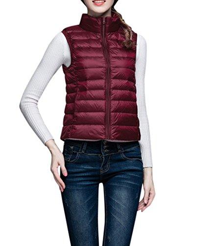 オセアニア適用するフォアマンYueLian ダウンベスト ベスト 袖なし ジャケット ダウン 羽織 レディース アウター 暖かい 防寒