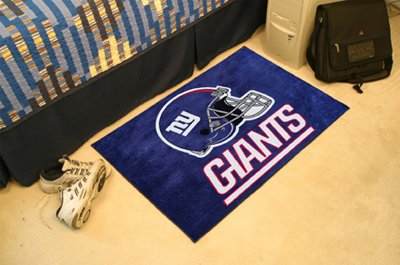 NFL New York Giants Football Starter Mat