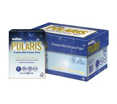 Boise Polaris(R) Premium Multipurpose Paper, Legal Paper Size, 20 Lb, FSC(R) Certified, Ream of 500 Sheets -  POL8511