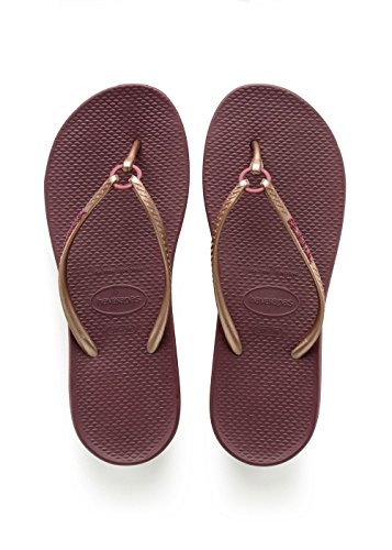 Tongs Femme Ring Violet Havaianas Wine Grape awOqxE