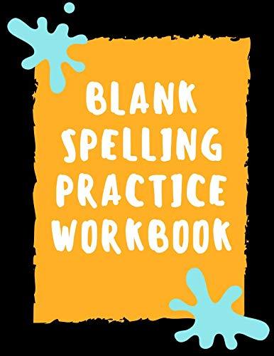 Blank Spelling Practice Workbook: Practice Spelling Notebook for Kids in All Grade Levels (Volume 2)