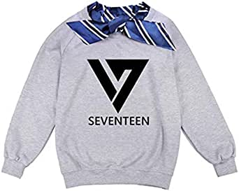 BTS custom-made bow tie sweatshirts unisex loose short sleeve hoodies couple clothes size L