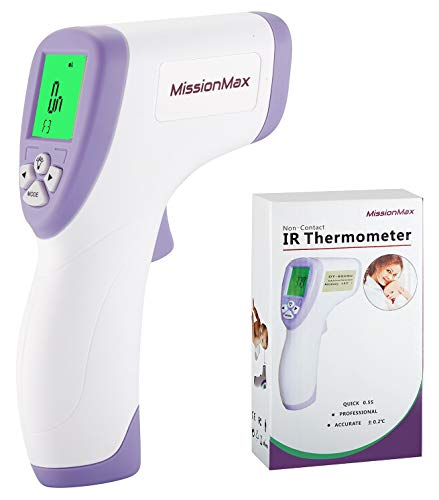 Forehead Thermometer Safe Non-Contact Instant Read, Temperature Baby Monitor, Kids Adults, Baby Must Haves for Baby First Aid Kit, Infant Thermometer or Thermometer for Kids, Surfaces