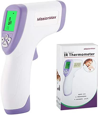 Forehead Thermometer Safe Non-Contact Instant Read, Temperature Baby Monitor, Kids & Adults, Baby Must Haves for Baby First Aid Kit, Infant Thermometer or Thermometer for Kids, Surfaces & Pets