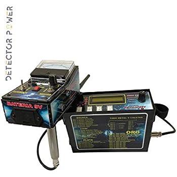 Germany Plus 2 Detector de Metales - Localizador Profesional - Long Range - Detector Escaner de Profundidad y de Distancia | Encuentra Oro, Plata, Monedas, ...