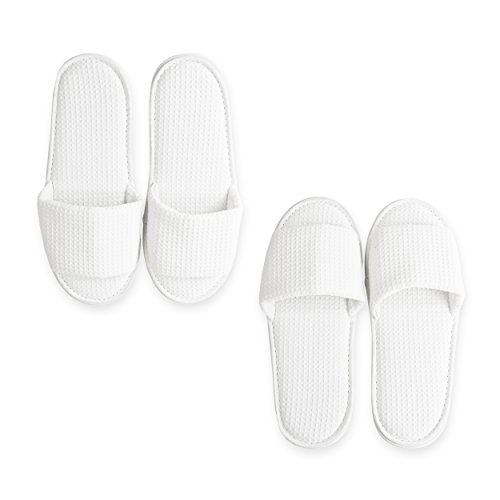 Luxor Linens Luxury 100% Cotton Giovanni Spa Set - Robe, Slippers & 3-Piece Towel Set - 2 Sets - Perfect for a Relaxing Spa Day at Home! by Luxor Linens (Image #3)