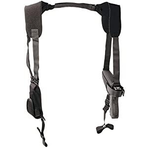Uncle Mike's Off-Duty and Concealment Pro-Pak Nylon Horizontal Shoulder Holster