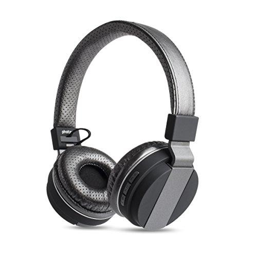 photive bluetooth headphones bth85 over the ear wireless. Black Bedroom Furniture Sets. Home Design Ideas