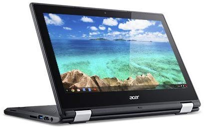 "Newest Acer Convertible 2-in-1 Chromebook-11.6"" HD IPS Touchscreen, Intel Celeron Quad-Core Processor Up to 2.08Ghz, 4GB RAM, 16GB SSD, HDMI, WiFi, Chrome OS-(Renewed)"