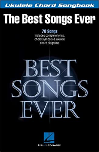 Amazon Best Songs Ever Ukulele Chord Songbook 9781480330245