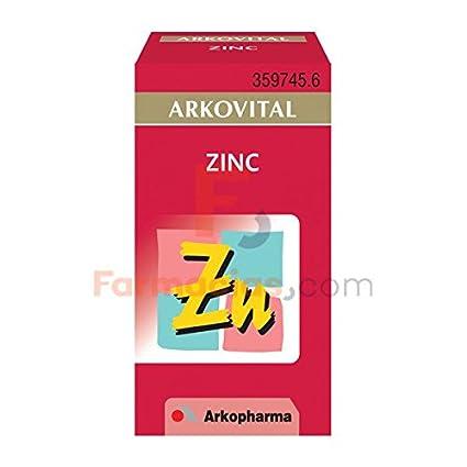 ARKO - ARKOPHARMA Arkovital Zinc 50 cápsulas: Amazon.es ...