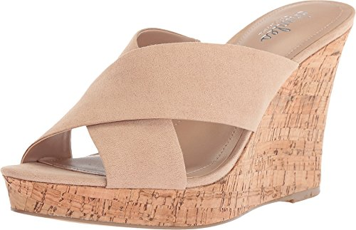 CHARLES BY CHARLES DAVID Women's Latrice Nude Microsuede 8 M US M