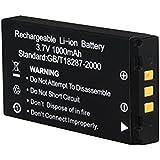 3GO WILD-005 iones de litio 1000mAh 3.7V batería recargable - Batería/Pila recargable (1000 mAh, Ión de litio, 3,7 V, Negro, 1 pieza(s))