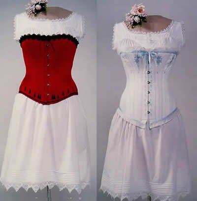 Amazon.com: Victorian Corsets, Chemise and Drawers Pattern (Sewing ...
