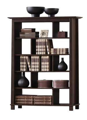 Baxton Studio Havana Tall Wood Modern Bookcase,