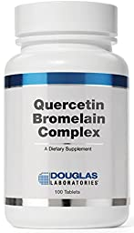 Douglas Laboratories® - Quercetin Bromelain Complex - Formulation to Support Vascular and Immune Cell Function* - 100 Tablets