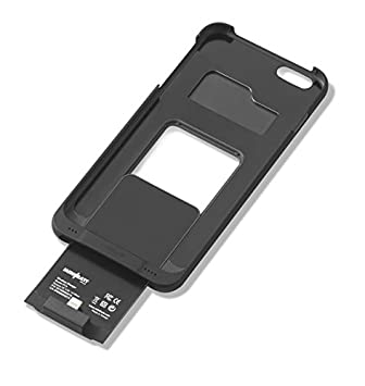 Funda receptora PowerCase para iPhone 6+ de MiniBatt para adaptar el teléfono a la carga inalámbrica Qi, Receptor Wireless Charge, Carcasa de ...