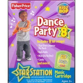 Fisher Price Star Station Dance Party #8 ROM Pack