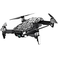 MightySkins Skin for DJI Mavic Air Drone - Floral Retro | Min Coverage Protective, Durable, and Unique Vinyl Decal wrap cover | Easy To Apply, Remove, and Change Styles | Made in the USA