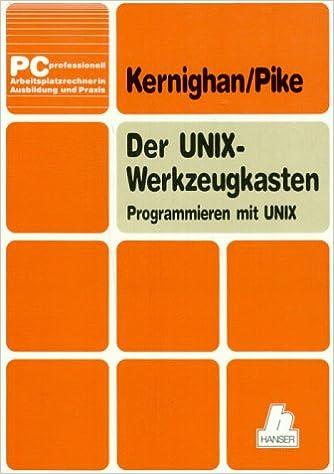 Buchcover von Der UNIX-Werkzeugkasten