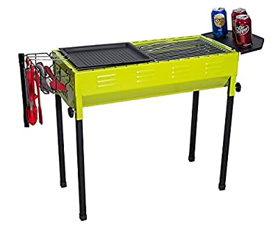 Camp Solutions BBQ Grill, Charcoal grill, Foldable and Portable Outdoor Grill, A Perfect Gift for Barbecue Lovers from Camp Solutions