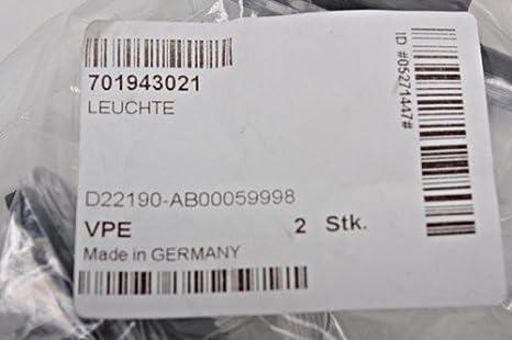 Kennzeichenleuchte Original VW Transporter T4 Leuchte Heck 701943021
