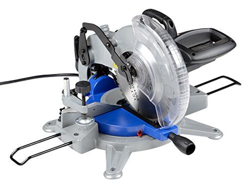 ATE Pro. USA 11044 Electric Sliding Miter Saw 10'', 27.17'' Height, 16.54'' Width, 18.11'' Length