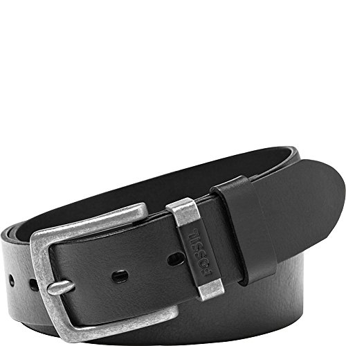 Fossil Leather Genuine Belt (Fossil Men's Jay Leather Jean Belt Black)