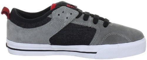 Fallen CLIPPER Youth 43070010 - Zapatillas de skate de ante para niños Gris
