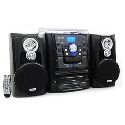 jensen-jmc-1200bk-limited-edition-3-cd-all-in-1-music-system-with-turntable-cd-mp3-am-fm-radio-dual-