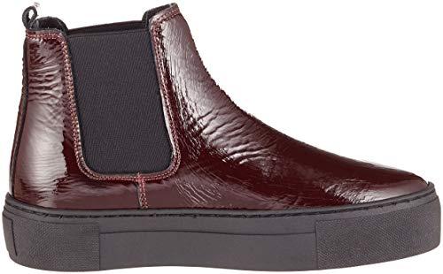 Femme Chelsea Boots 544 BLK1978 Crack Bordo Patent 253 760 Rouge gIxS4
