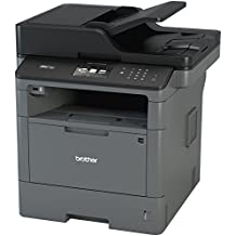 Brother Monochrome Laser Multifunction All-in-One Printer, MFC-L5700DW, Flexible Network Connectivity, Mobile Printing & Scanning, Duplex Printing, Amazon Dash Replenishment Enabled