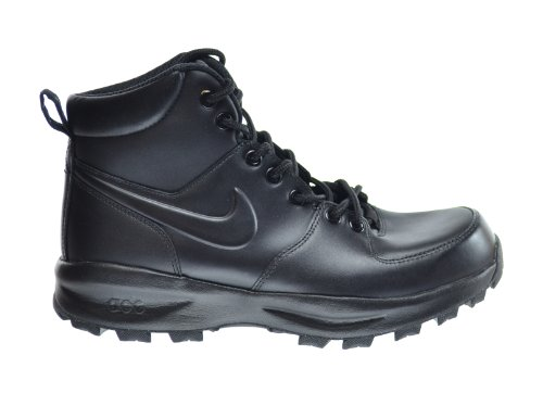 Amazon.com | Nike Manoa Leather Men's Boots Black 454350-003 ...