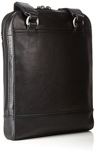 Fossil Herren Rory Geldbörse, 5x28x21.5 cm Schwarz (Black)
