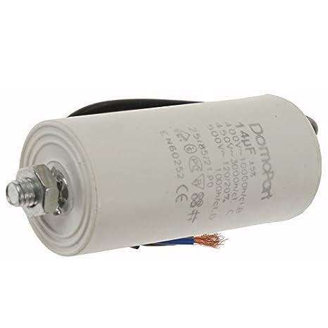 Universal 2UF 40UF Microfarad Start Run Motor Capacitors MFD Cable Connector 20UF