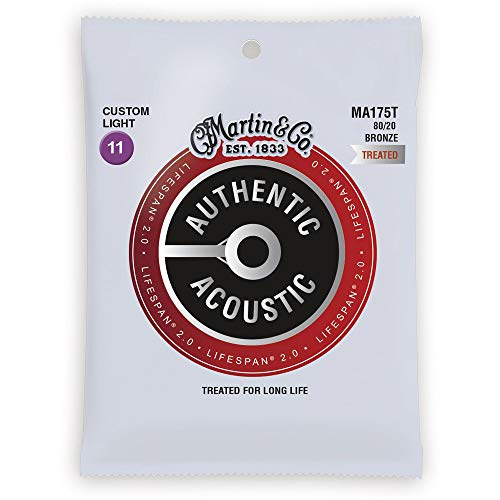 Martin Strings Acoustic Guitar Strings (41Y18MA175T)