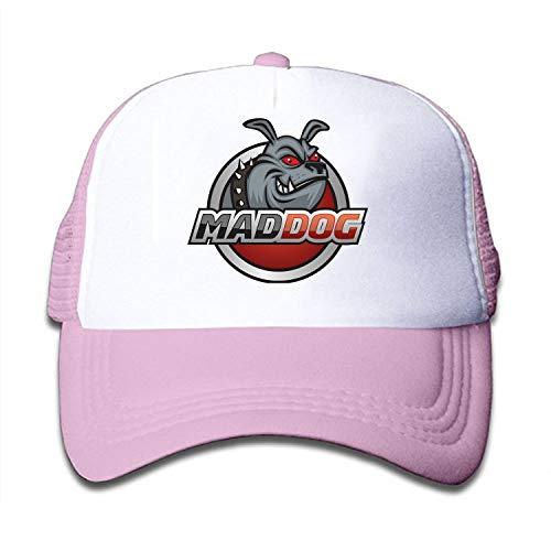 Verna Christopher Kids Mad Dog Trucker Hats,Youth Mesh Caps,Snapback Baseball Cap Hat