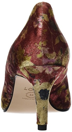 Lodi Damen Eloisa-Te Hohe Hausschuhe Mehrfarbig (Metvet Wine)