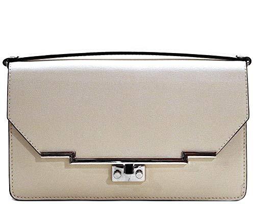 Firenze Clutch Saffiano Leather Bag Purse Evening -