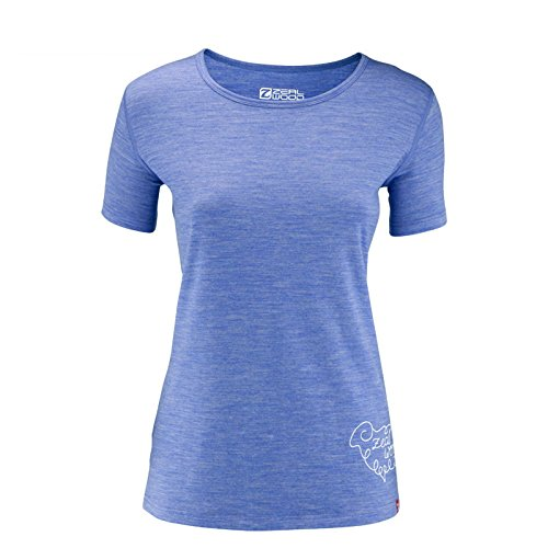 ZHFC-cotton empreintes, été des t - shirts, 150g sports de plein air, des hommeches courtes,M,Violet