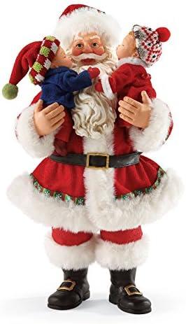 Department 56 Possible Dreams Merry Kiss-Mas Santa, 10 inch