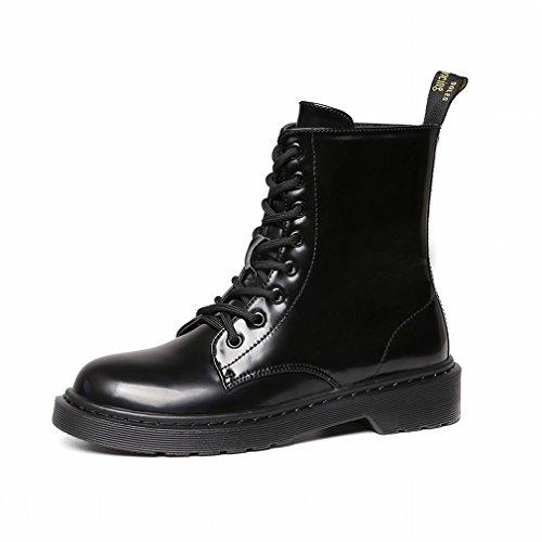 Épaississement Des Vent Grossier Bottes Rondes de Chaudes Dentelle Bottes en Western UNE en Chaussures avec Cachemire Neige XAI 0fFqxwEF
