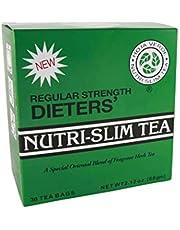 NUTRI-SLIM TEA WEIGHT LOSS DIETERS REGULAR STRENGTH HERBAL DRINK 30 TEA BAG
