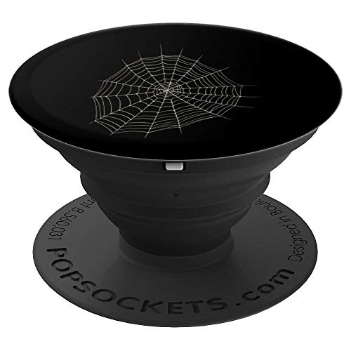 (Spider and Spider Web Costume Art | Halloween Easy Gift - PopSockets Grip and Stand for Phones and)