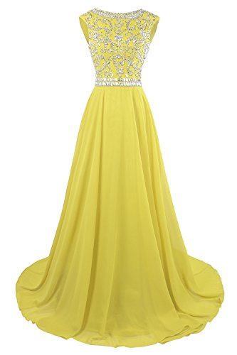 - MsJune Long Prom Dresses Cap Sleeves Bridesmaid Wedding Guest Gowns Beaded 2017